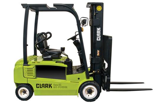 Clark Elektro Vierrad Gabelstapler Typ GEX 20 S