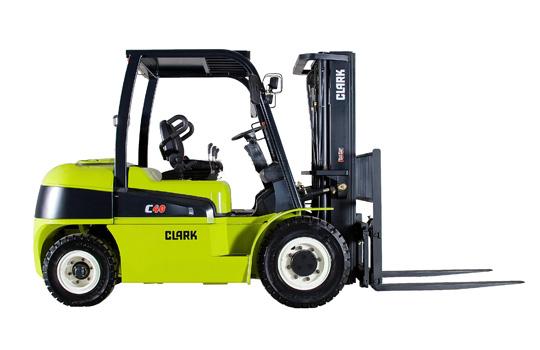 Clark C55D Diesel Vierradgabelstapler