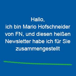 Dieser Newsletter wurde von Mario Hofschneider zusammengestellt.