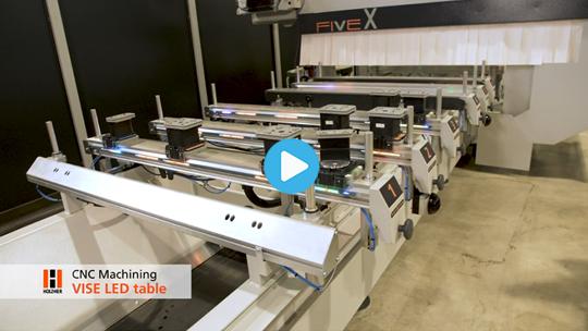 VISE LED table – CNC Machining