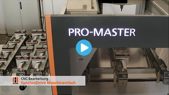 SynchroDrive table – CNC Machining